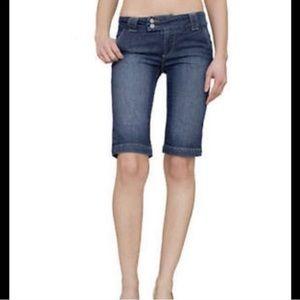 Paige sweetzer denim jean shorts